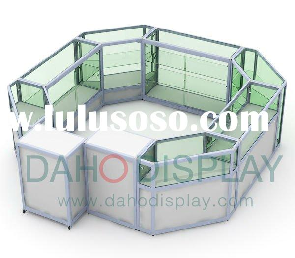 glass display cabinet for boutique