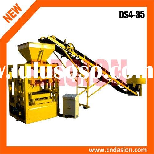 high-efficient DS4-35 compressed earth brick block making machine