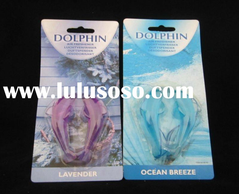 home & car small scented dolphin hanging air freshener refills