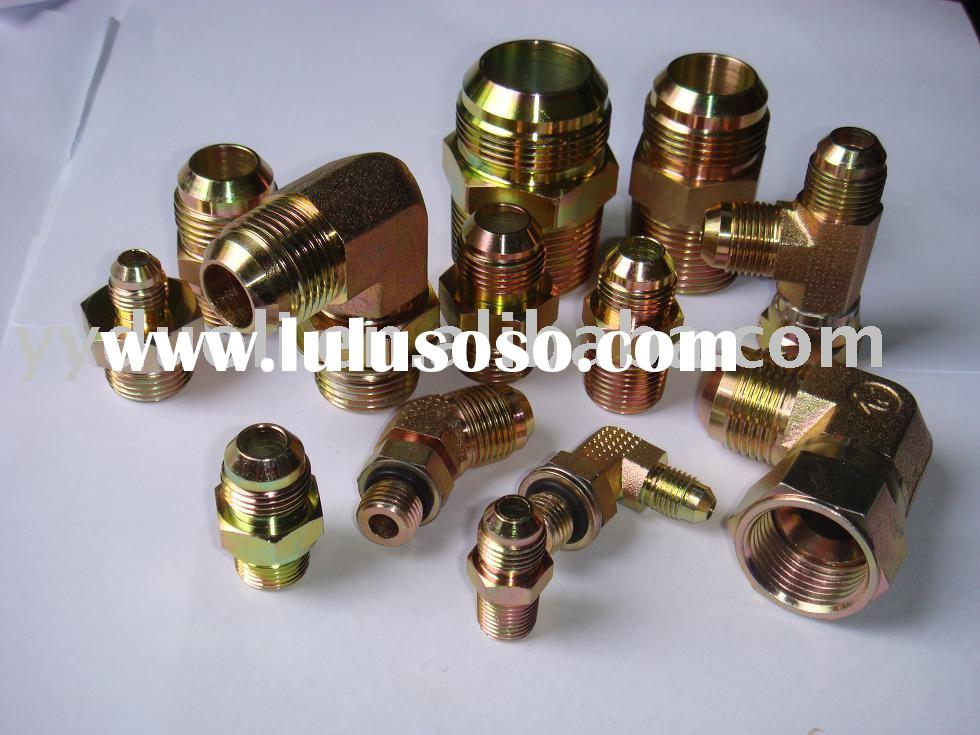 hydraulic fitting:JIC fitting carbon steel