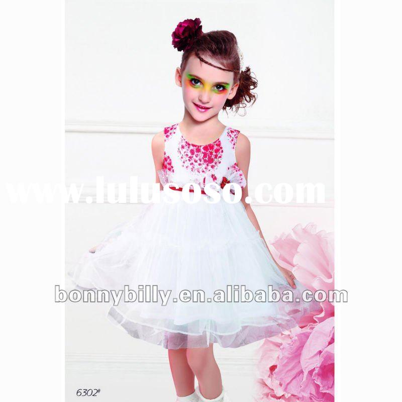 kids party dress /lace princess dress/flower dress