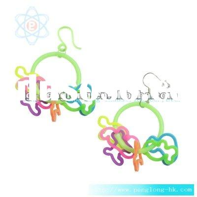 lovely silicone ear ring women accessories