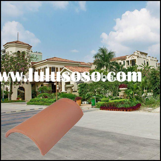 lower price waterproof flat clay roof tiles