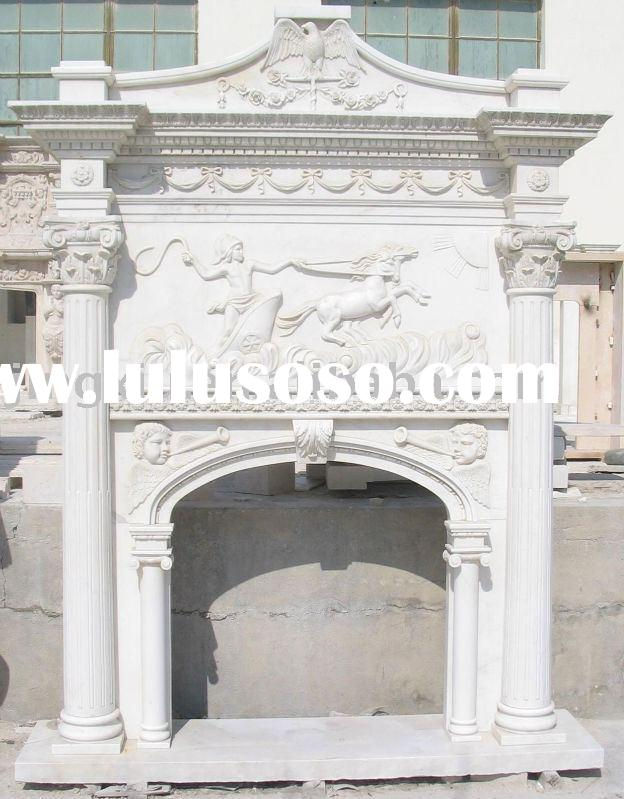 marble fireplace mantel,marble fireplace surround,stone fireplace