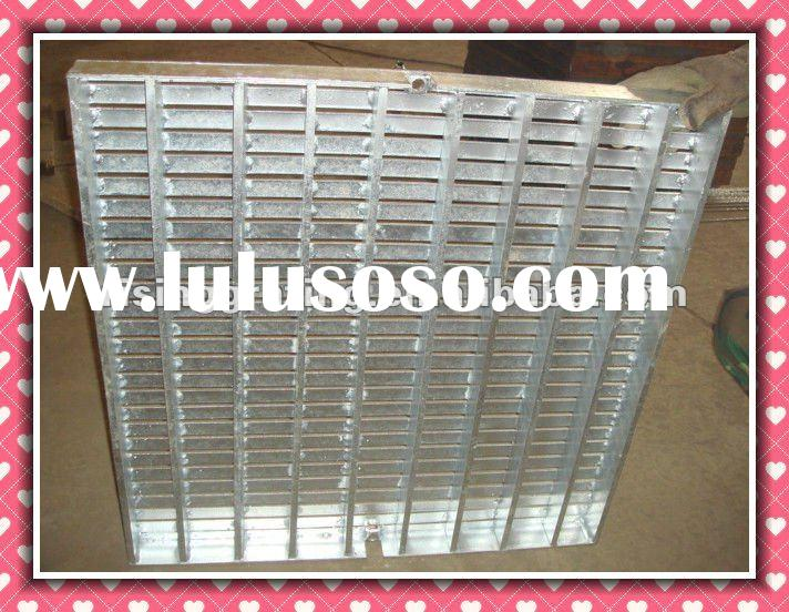 mild steel or stainless steel,aluminum bar grating weight