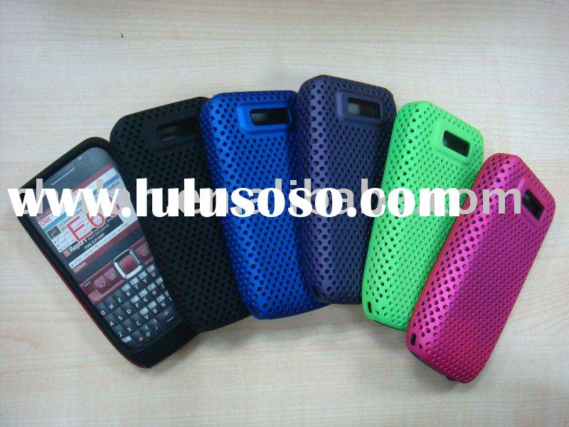 mobile phone mesh combo case for nokia E63 (2 in 1 case,hot sales,accept paypal)