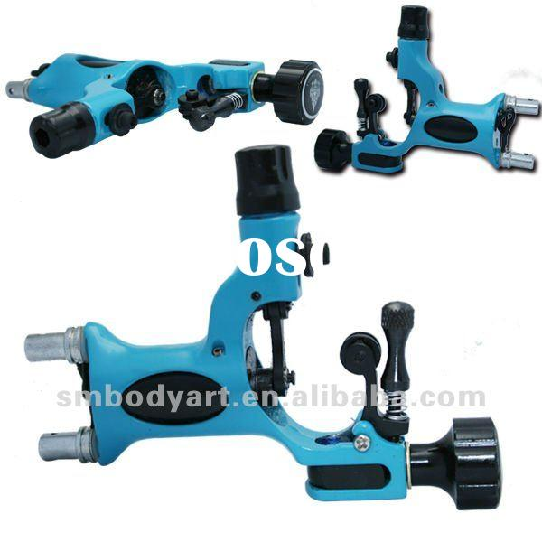 new design blue imported motor dragonfly tattoo machine body art