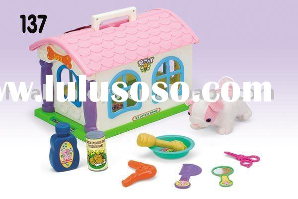 pet play toy Toy pet house set