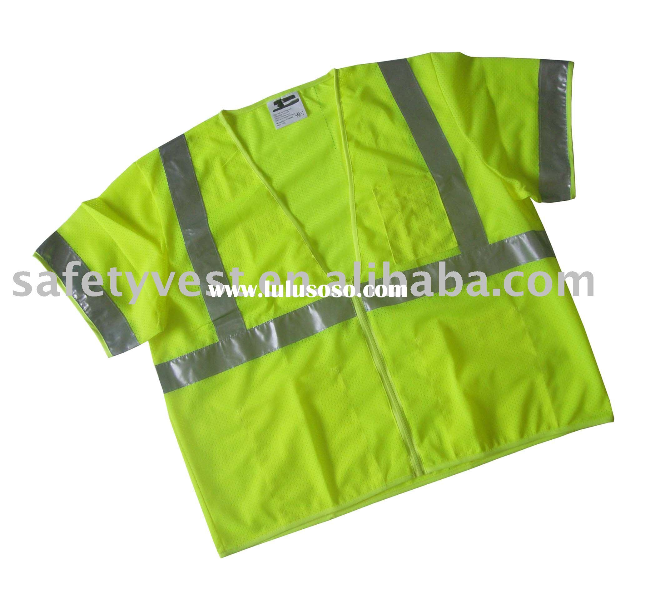 reflective safety vest for work cloth