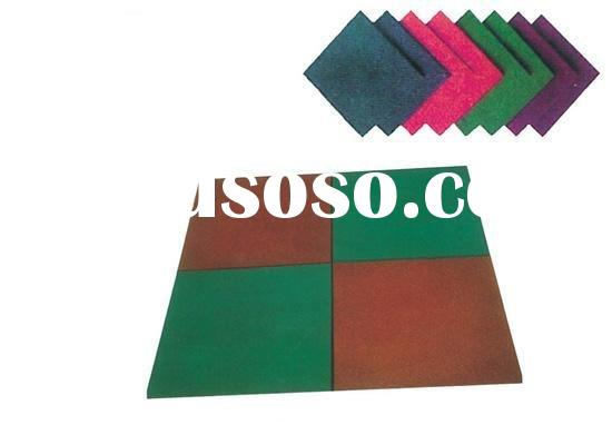 safety rubber mat outdoor playground use