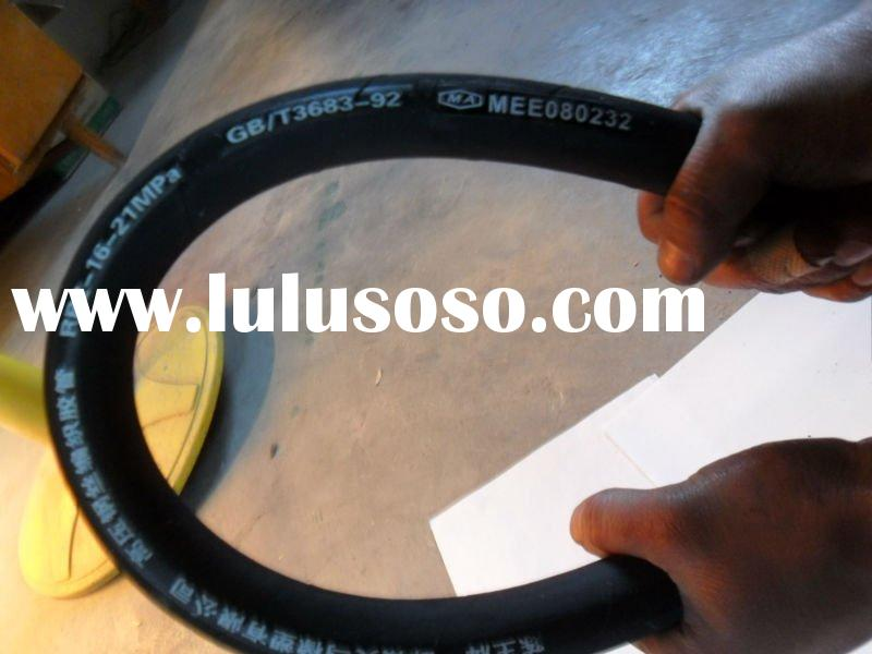steel wire reinforced rubber cover hydraulic hose