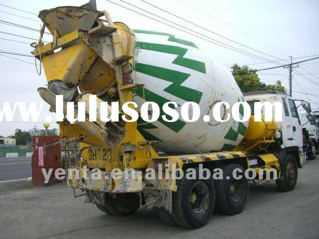 used hydraulic cement mixer - ISUZU (266-VJ) - used concrete mixer truck