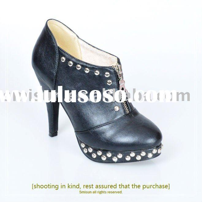 wholesale,Guaranteed 100%,New/PU,design shoes,women's boots,women shoes,high heel,rubber,riv