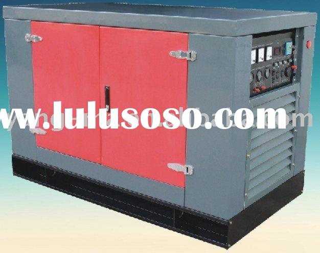 12KW/15 KVA water cooled Three cylinder engine power silent electric diesel generator