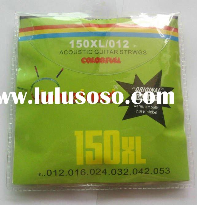 150XL Acoustic Guitar Colorful strings .012-.053 steel rainbow color colorful