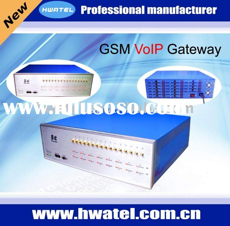 16 Channels with 64 SIM Cards voip gsm gateway imei,GoIP Gateway,GSM VoIP Gateway