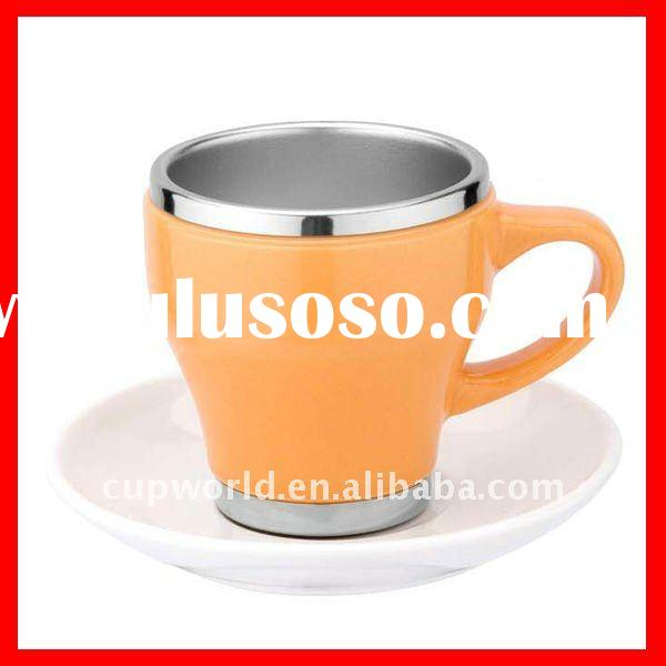 16oz double wall SS insulated coffee cup / S/S insulated coffee cup