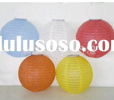 2010 the best popular solar led fabric lantern