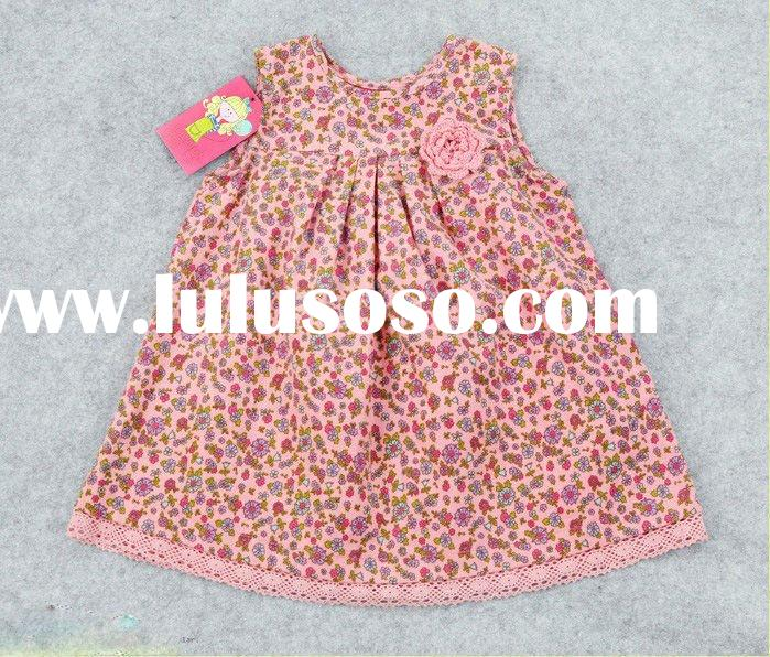 2011Spring&Autumn hot sale children party dresses girls in short skirts petti skirt