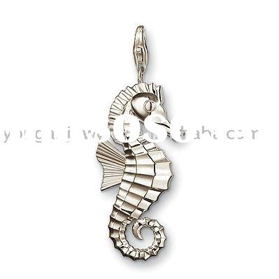 2011 New&Fashion Design Jewelry Silver Pendant Seahorse On Hot Sales