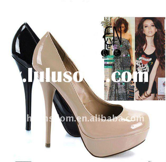 2011 lady's new fashion high heel shoes