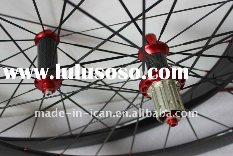 2012 Newest 50mm Carbon Road Clincher wheelset 2012 NEW 50mm carbon bicycle wheels Hotsale carbon bi