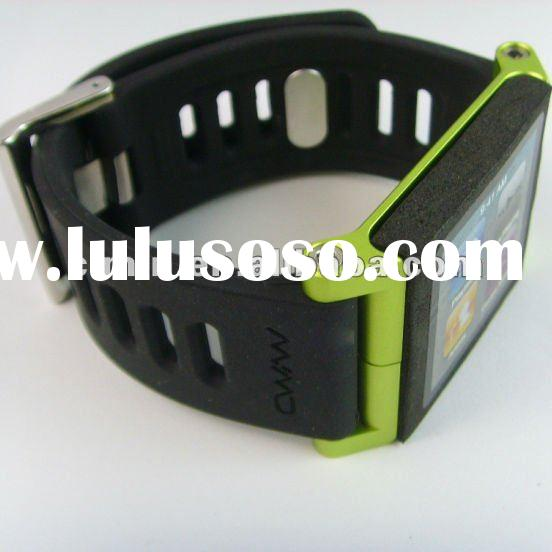 2012 newest ceramic watch bands for ipod nano 6th