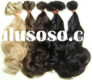 """20"""", loose wave, remy human hair extension, hair weft"""