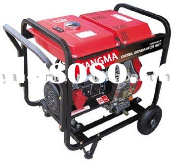 2/3/5/6KW open type diesel engine power portable electric generator