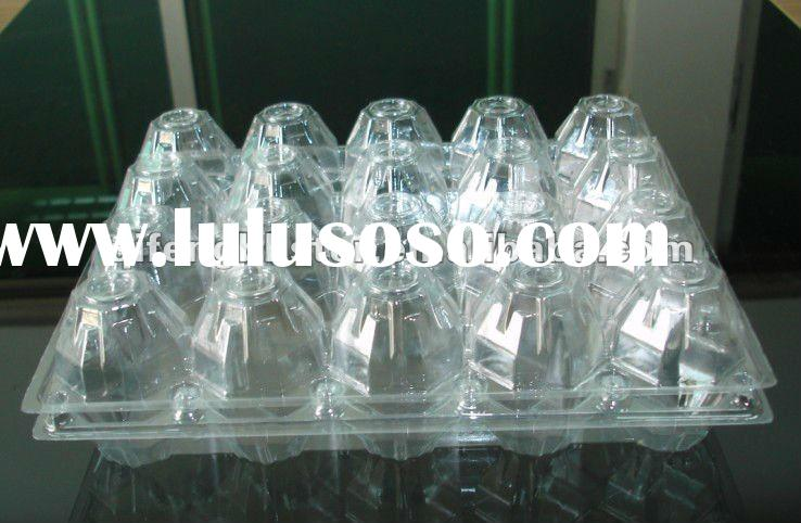 2/4/6/8/9/10/12/15/16/20/24/30/40 PET / PVC egg farm trays,chicken egg tray,quail eggs boxes