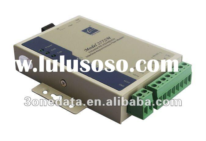 3ONEDATA RS232/RS422/RS485 to Fiber Optic Converter(MODEL277)
