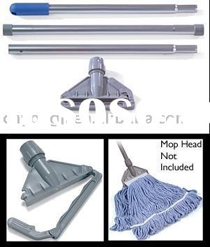 3-Piece Aluminium Mop Stick & Field Gate Kentucky Mop Holder