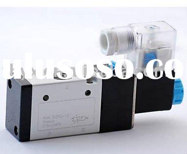 "3 Way 1/4"" Solenoid Air Valve 24V DC NORMALLY OPEN NO"