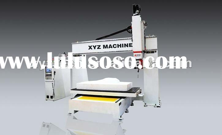 5 Axis cnc router XYZ-R-1325 for Stairs/Sculpture
