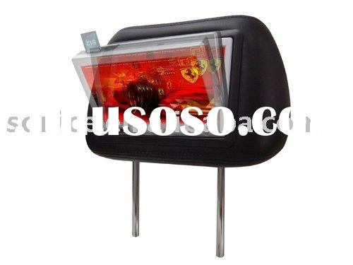 "7"" Taxi Advertising Headrest LCD Monitor with SD/Body Sensor (SJ-207Mp4)"