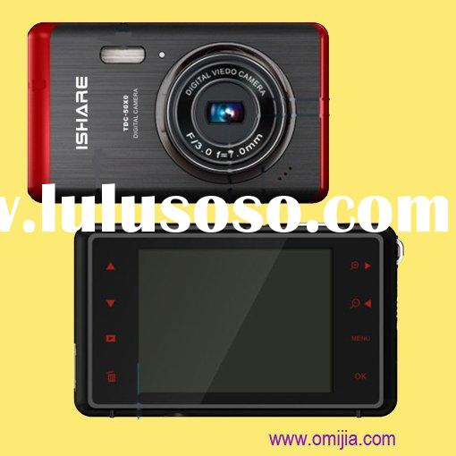 """9MP Digital Camera Touch Keys 3.0"""" Large Screen Rechargable Battery (TDC-90X0)"""