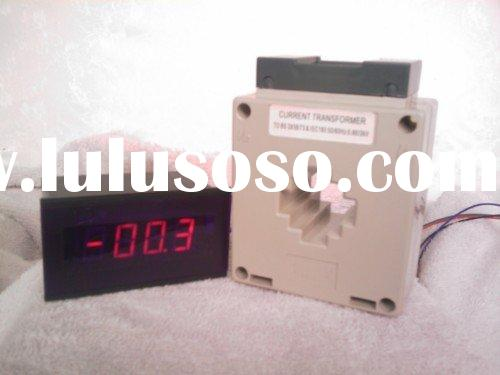 AC digital panel meter with current transformer