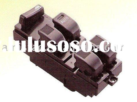 AUTO ACCESSORY MAIN POWER WINDOW SWITCH, BLACK W/O PANEL,W/O PINCH GUARD FOR DAIHATSU-AM3781