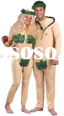 Adam and Eve Halloween Costume - Couple's Costume
