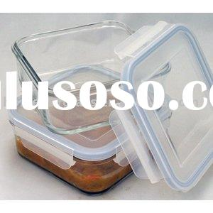 Air-Tight Glass Storage Food Container