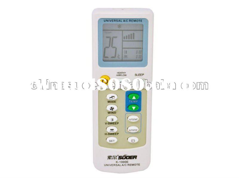 Air conditioner remote control universal