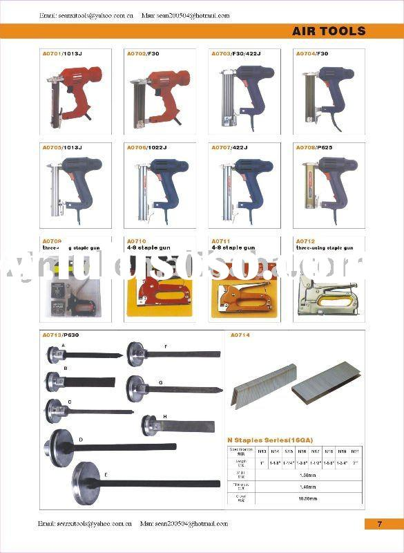 Air nail gun accessories