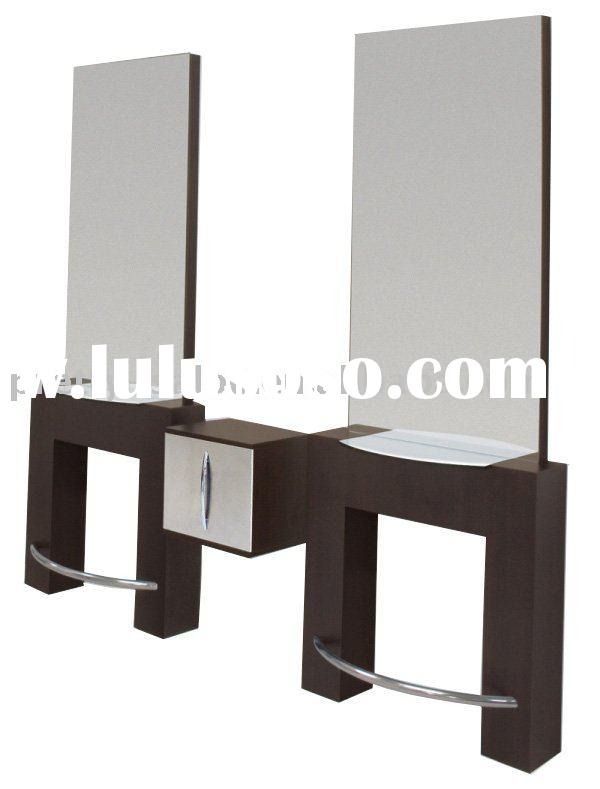 Hairdressing mirror hairdressing mirror manufacturers in for Salon table and mirror