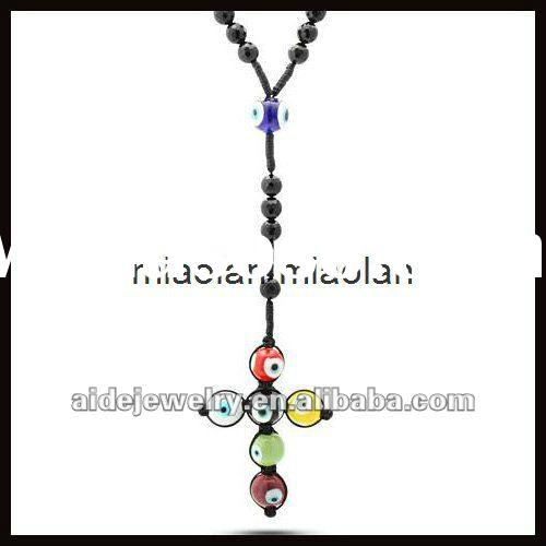 Rosary Inspired Necklace Inspired Rosary Necklace