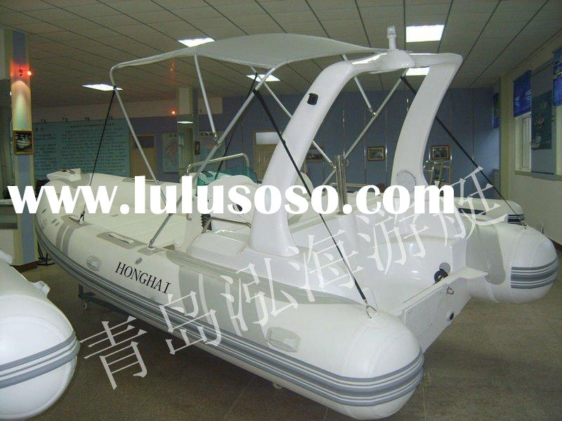 CE 2011 new hot RIB-580B work Luxury yacht inflatable boat