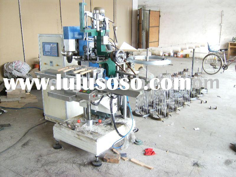 CNC 5 axis drilling and tufting machine special for steel wire brush