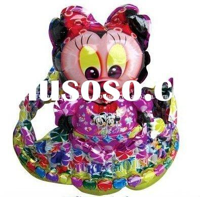 CROWN SHAPED BALLOONS-Minnie Mouse , Crown Helium Mylar Balloon, Character SuperShape Foil Balloon,1