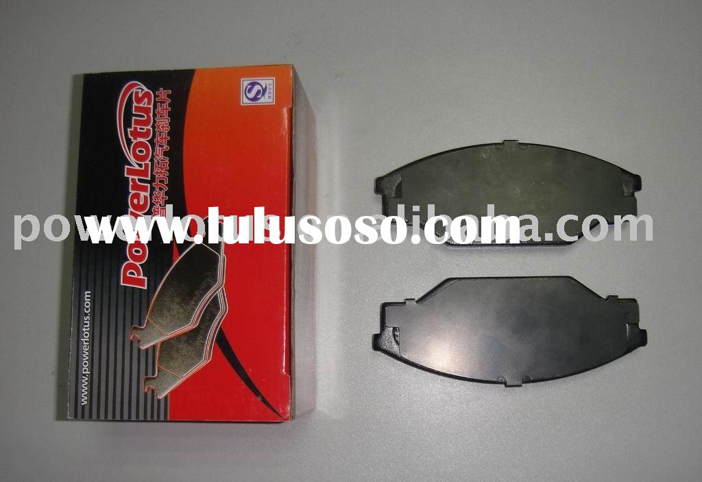 Carbon ceramic auto brake pad Toyota hiace spare parts