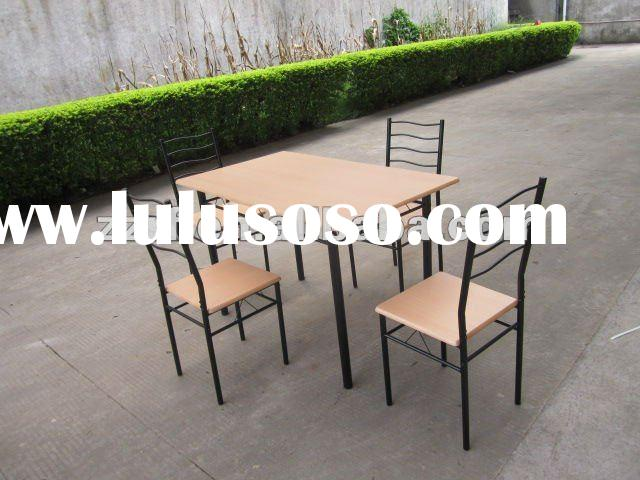 Cheap restaurant dining tables and chairs sets