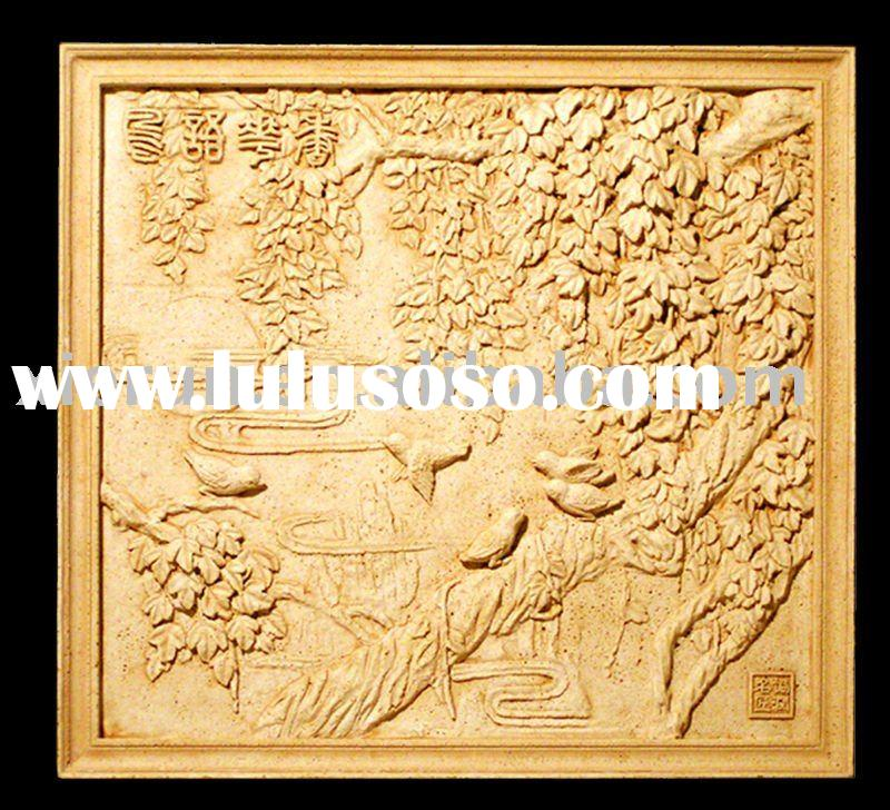 Chinese high quality artificial sandstone relief/carving/sculpture